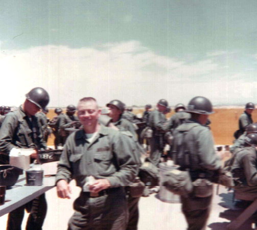 Dan Linn back at McGregor Range in 2006, 37 years after Basic Combat ...